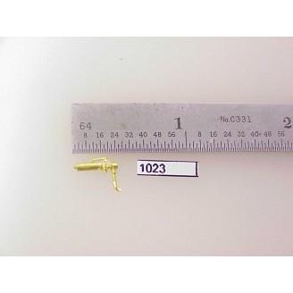 """1023 - HO Scale - Steam Loco,whistle,3/8""""H      Boo Rim   - Pkg. 1"""