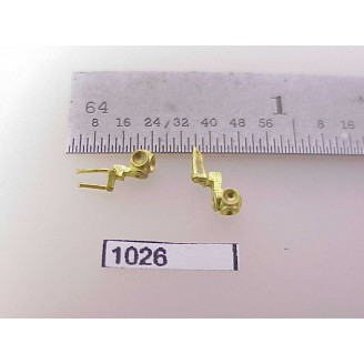 1026 - HO Scale - Steam Loco,light, marker, L&R      Boo Rim   - 1 Pair