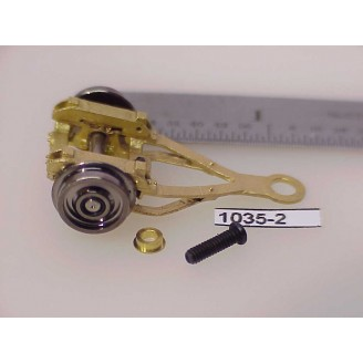 1035-2 - HO Scale - Steam Loco,truck, trailing 2 wheel, (use also as lead)       - Pkg.1