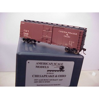 HO - C&O 1937 AAR Boxcar Car # 5445