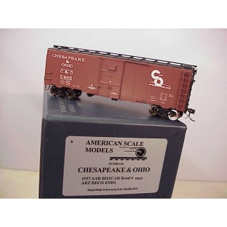 HO - C&O 1937 AAR Boxcar Car # 5465