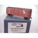 HO - C&O 1937 AAR Boxcar Car # 5475