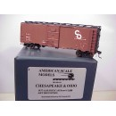 HO - C&O 1937 AAR Boxcar Car # 5488