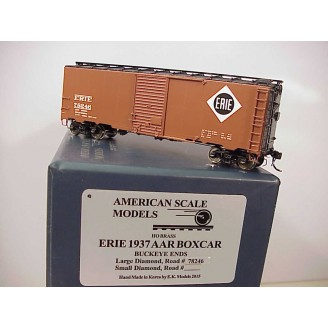 HO - Erie 1937 AAR Boxcar Car # 78246