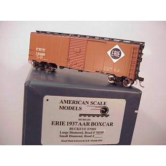 HO - Erie 1937 AAR Boxcar Car # 78399