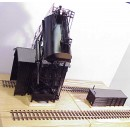 (O Scale Redler) 50 Ton Automatic Coal Loader With Sand Tank (Left Side) and Sand House - Price  $975