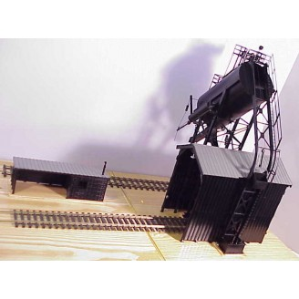 (O Scale Redler) 50 Ton Automatic Coal Loader With Sand Tank (Right Side) and Sand House - Price  $975