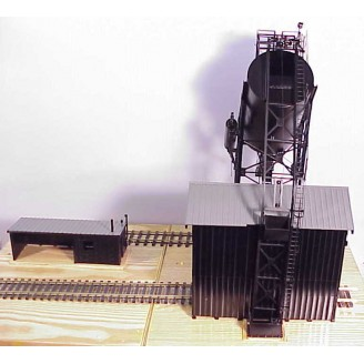 (HO Scale) Redler 50 Ton Automatic Coal Loader With Sand Tank (Right Side) and Sand House - Price  $750 - (Shipping Cost $34.95)
