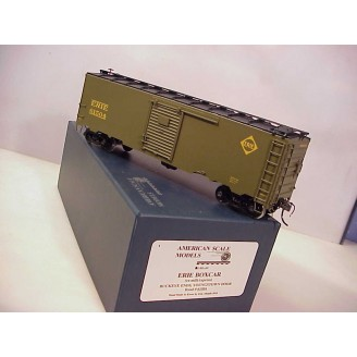 O Scale - Erie (ex milk/express) Boxcar, road number 61504