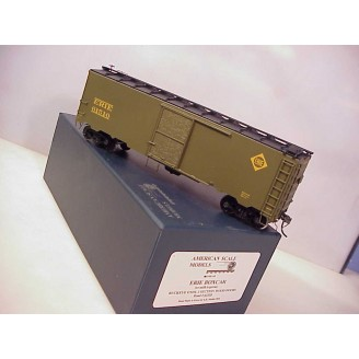 O Scale - Erie (ex milk/express) Boxcar, road number 61510