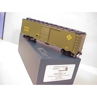 O Scale - Erie Boxcar (ex Erie express), road number 411061 (ice service)