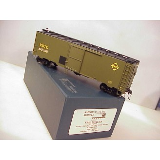 O Scale - Erie Boxcar (ex Erie express), road number 413052
