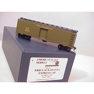 (HO Scale) Erie-Lackawanna Express Boxcar 1935-37 Greenville; (ex Erie express), road number 6603