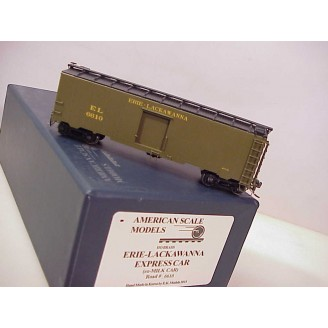 (HO Scale) Erie-Lackawanna Express Boxcar 1935-37 Greenville; (ex Erie express), road number 6610