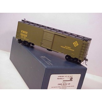 O Scale - Erie Dairy-Merchandise Boxcar (with interior compartment), road number 61002