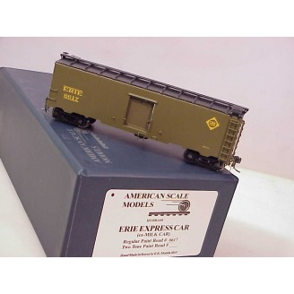 (HO Scale) Erie Express Boxcar 1935-37 Greenville (ex milk car), road number 6617