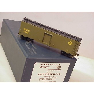 (HO Scale) Erie Express Boxcar 1935-37 Greenville (ex milk car), road number 6626