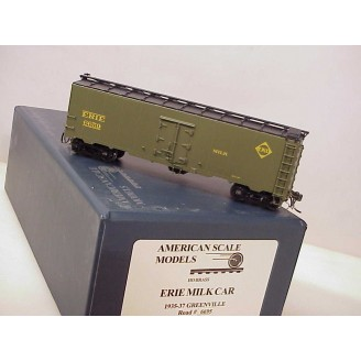 (HO Scale) Erie Milk Car 1935-37 Greenville, road number 6659