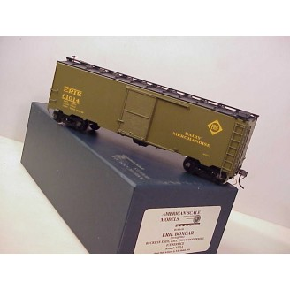 O Scale - Erie Dairy-Merchandise Boxcar (with interior compartment), road number 61014