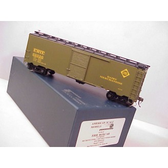O Scale - Erie Dairy-Merchandise Boxcar (with interior compartment), road number 61016