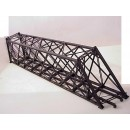 HO SCALE 139' Lattice Through Truss Bridge. Limited Run. Skewed Left
