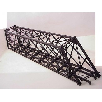 NOW IN STOCK 139' Lattice Through Truss Bridge. Limited Run. Skewed Left