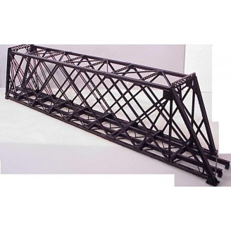 NOW IN STOCK - 139' Lattice Through Truss Bridge. Limited Run. Skewed Right
