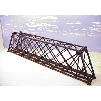 HO SCALE 139' Lattice Through Truss Bridge. Limited Run. Straight Version