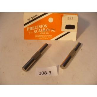 O Scale US Hobbies/Precision Steam Locomotive Driver Axles for gear   #108-3