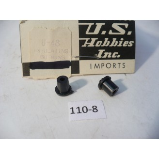 O Scale US Hobbies Steam Locomotive Hardware: Insulated Bushing   #110-8