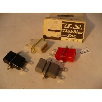 O Scale US Hobbies Steam Locomotive Electrical: Locomotive to Tender Plug   #114-1