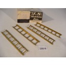 O Scale US Hobbies Freight Car 7-Rung Ladders #150-6